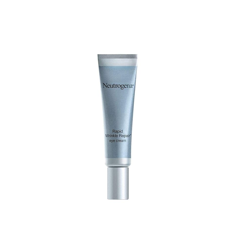 "<p><strong>Neutrogena</strong></p><p>amazon.com</p><p><strong>$17.73</strong></p><p><a href=""https://www.amazon.com/dp/B004D24818?tag=syn-yahoo-20&ascsubtag=%5Bartid%7C10056.g.28339109%5Bsrc%7Cyahoo-us"" target=""_blank"">Shop Now</a></p><p>With retinol, there's no such thing as instant results. But this cream gets close. In just about a week, you'll notice smoother, brighter eyes with results getting better over time.</p>"