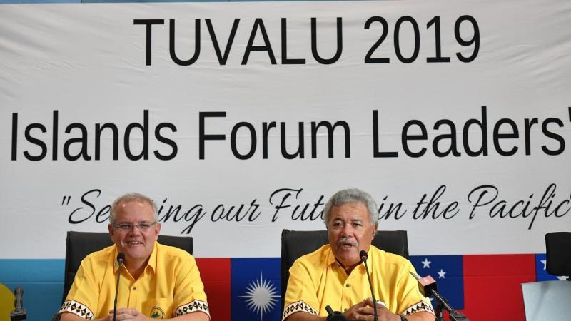 PACIFIC ISLANDS FORUM TUVALU