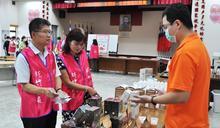 台電新竹區處行公益 愛心義賣慢飛兒庇護工場商品