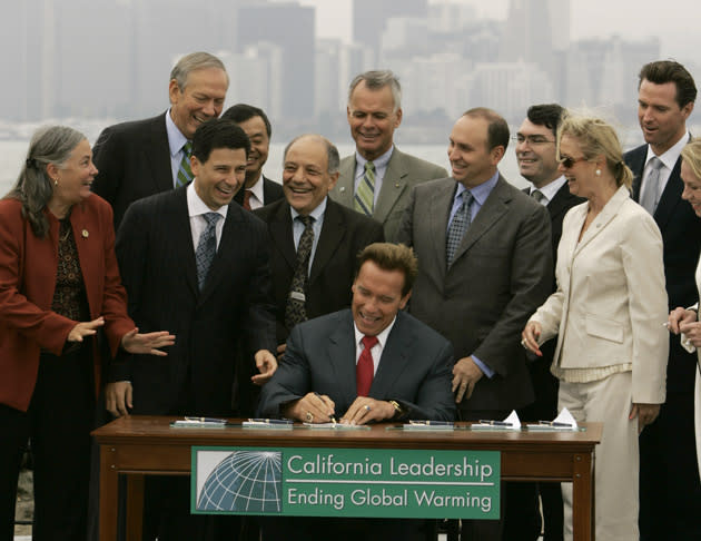 August 30: California limits greenhouse gases from cars on this date in 2006
