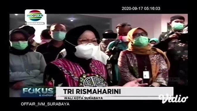 VIDEO: Warga Surabaya Bisa Tes Usap COVID-19 Gratis di Labkesda
