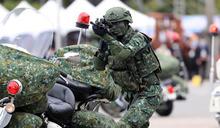 國慶大會 憲兵快速反應連演出(1) (圖)