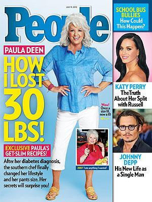 Paula Deen details how she lost 30 lb. in six months