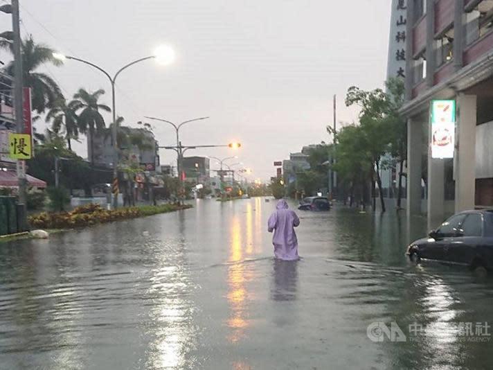 暖化海平面上升 台南淹水恐最嚴重