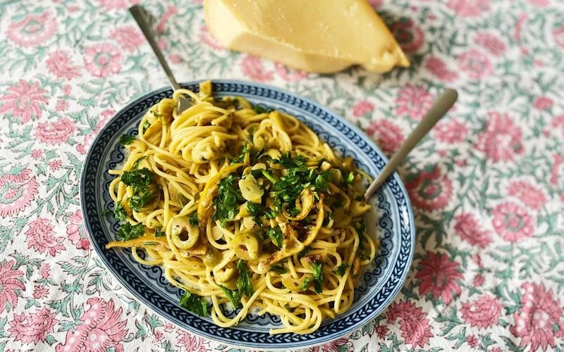 A light summer pasta - Eleanor Steafel