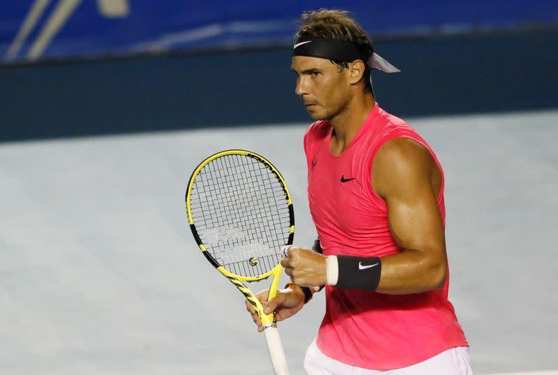 Nadal makes winning start as tennis returns in virtual world