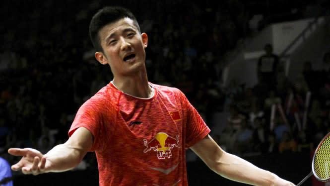 Chen Long Terkapar Diamuk Raja Bulutangkis Dunia di Denmark Open