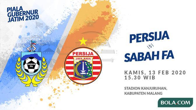 Persija Kian Kokoh di Puncak Klasemen Usai Bungkam Sabah FA 2-0