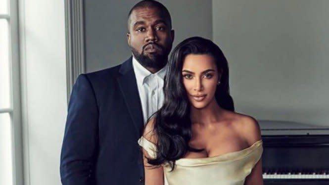 Kim Kardashian Dikabarkan Segera Ceraikan Kanye West