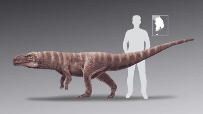 Ilmuwan Kaget, Nenek Moyang Buaya Jalannya Sama Seperti Dinosaurus
