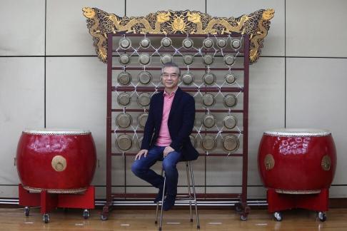Maestro Yan Huichang, artistic director and principal conductor for life of the Hong Kong Chinese Orchestra. Photo: Jonathan Wong
