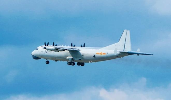 PLA aircraft have been spotted at least six times flying close to Taiwan's airspace this year. Photo: Handout