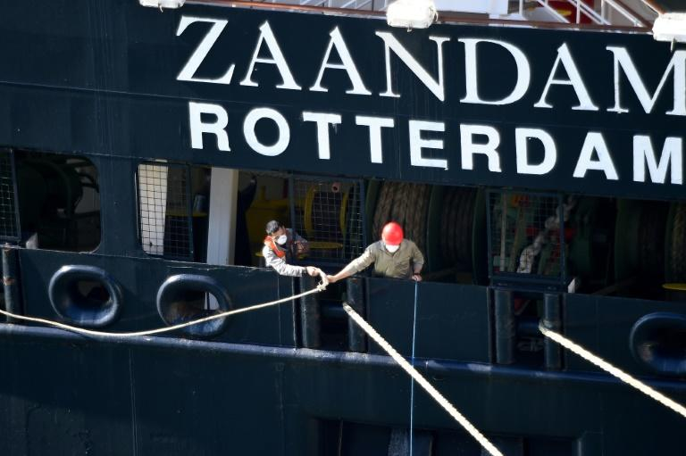 Local and state officials in Florida, the Coast Guard and Holland America have worked out a plan to get the passengers off the two ships