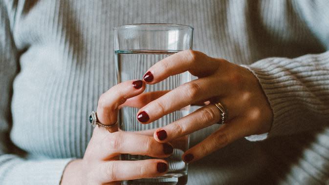 Ilustrasi air putih. /pexels
