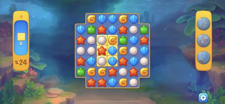 Fishdom puzzle game