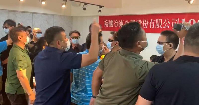 裕國冷凍於6月24日股東會爆發推擠衝突,董事會決議將在9月23日再次召開股東常會。(圖/報系資料庫)