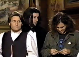 Unearthed Raw Footage of Adam Sandler, Eddie Vedder, and Emilio Estevez Taping an 'SNL' Promo in 1994