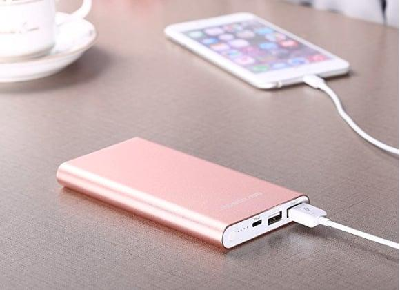 "<p>Never lose battery power while traveling with this <a href=""https://www.popsugar.com/buy/PowerAdd-Pilot-Portable-Charger-341616?p_name=PowerAdd%20Pilot%20Portable%20Charger&retailer=amazon.com&pid=341616&price=22&evar1=savvy%3Auk&evar9=35307351&evar98=https%3A%2F%2Fwww.popsugar.com%2Fsmart-living%2Fphoto-gallery%2F35307351%2Fimage%2F35307371%2FPowerAdd-Pilot-Portable-Travel-Charger&list1=shopping%2Ctravel%2Ctravel%20tips%2Con%20the%20road%20movie%2Cair%20travel%2Cfind%20your%20happy%2Con%20the%20road%2Ctravel%20goods&prop13=api&pdata=1"" rel=""nofollow"" data-shoppable-link=""1"" target=""_blank"" class=""ga-track"" data-ga-category=""Related"" data-ga-label=""https://www.amazon.com/Poweradd-Lightning-Pilot-4GS-High-Speed/dp/B01LA941IG/ref=sr_1_5?s=electronics&amp;ie=UTF8&amp;qid=1528135096&amp;sr=1-5&amp;keywords=portable+charger&amp;dpID=41uQi5xUoxL&amp;preST=_SY300_QL70_&amp;dpSrc=srch"" data-ga-action=""In-Line Links"">PowerAdd Pilot Portable Charger</a> ($22).</p>"
