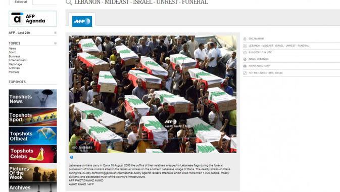 Tangkapan layar foto milik AFP.
