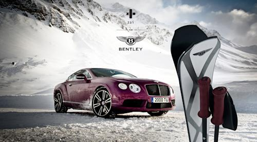 $10,000 Bentley skis, for ballers and Bond villains only