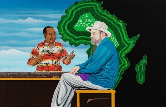 Chéri Samba, 'Le Blanc Africaniste' (2007)