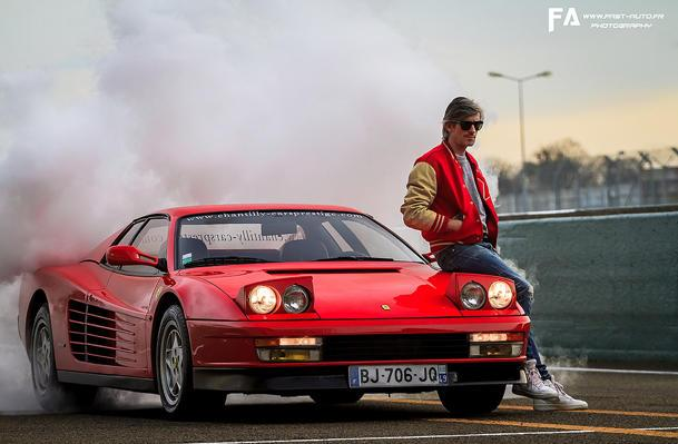 Kavinsky and his Testarossa take your girlfriend away: Flickr photo of the day