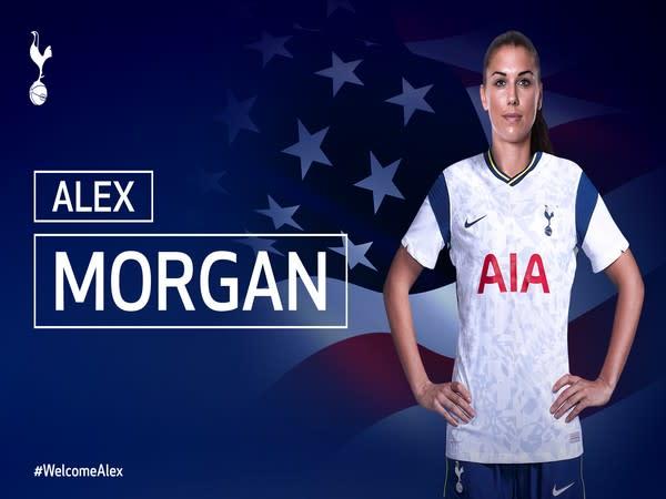 USA striker Alex Morgan (Photo/Tottenham Hotspur Women Twitter)