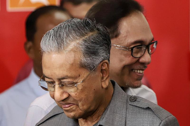 Pakatan Harapan and its allies, including Dr Mahathir's faction, dubbed 'PH Plus' are in a stalemate over their choice of candidate to be prime minister, with PKR adamant that it would only accept Anwar while the rest continue to push Dr Mahathir as an interim compromise. — Picture by Azneal Ishak