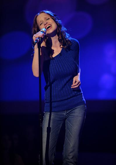 "Jessica Langseth performs ""Bette Davis Eyes"" by Kim Carnes on ""American Idol."""