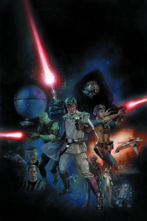 George Lucas' Original Vision for 'Star Wars' Published as Graphic Novel