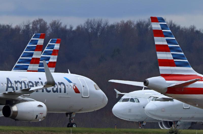 Virus Outbreak Airlines Full Flights
