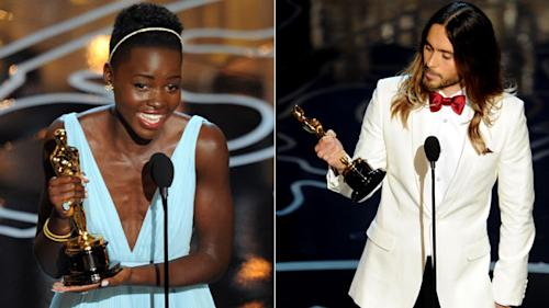 WATCH: Top 5 Oscar Speeches Of 2014