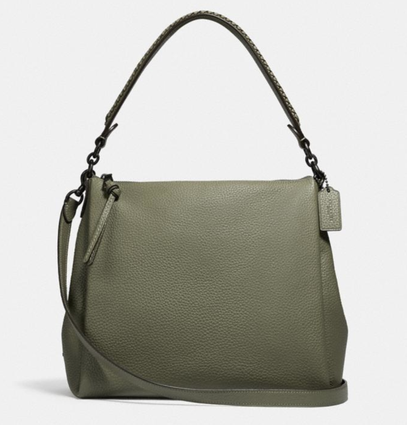 Shay Shoulder Bag With Whipstitch Detail (Credit: Coach)
