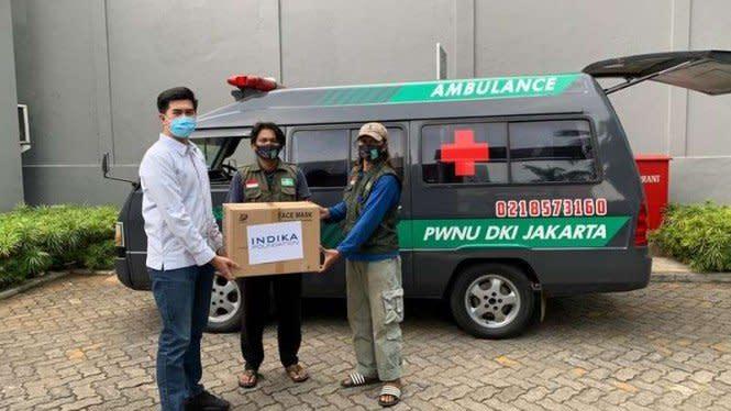 Tenaga Medis di 22 Rumah Sakit NU Terima Bantuan 50 Ribu Masker