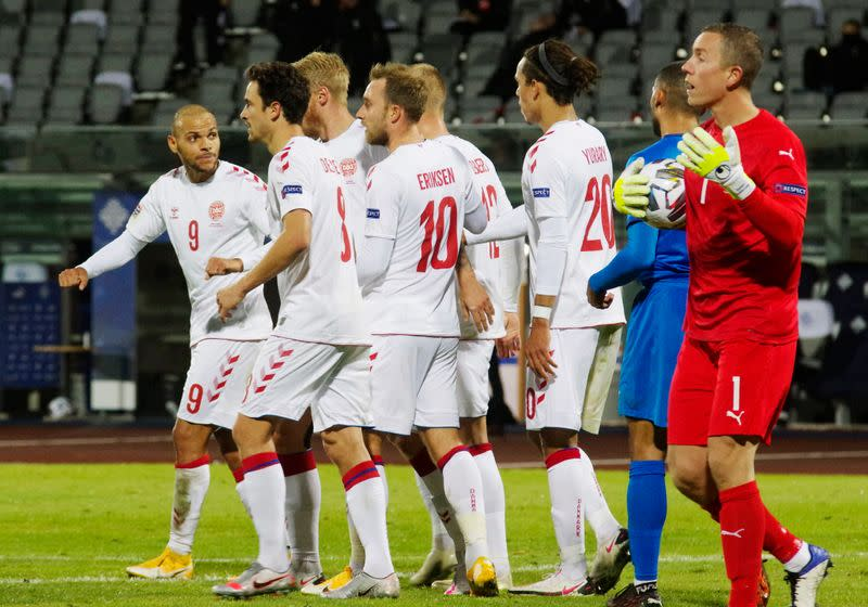 Dominant Denmark cruise to 3-0 win over Iceland