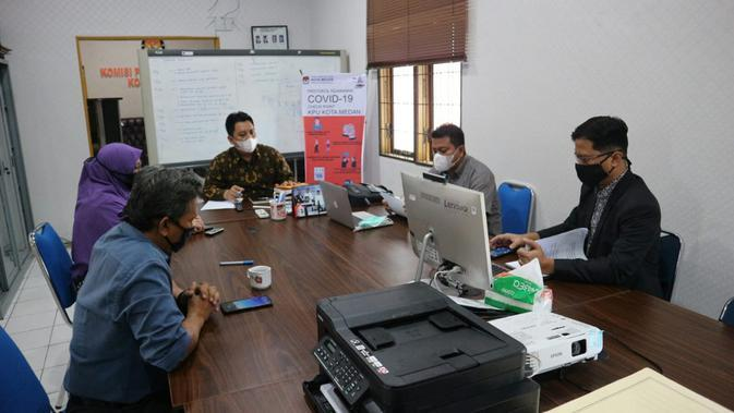 Komisi Pemilihan Umum (KPU) Kota Medan.