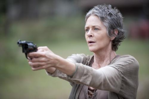 Melissa McBride as Carol on 'The Walking Dead,' Season 4, Episode 13 -- Gene Page/AMC