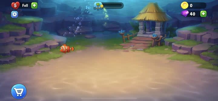 Fishdom aquarium