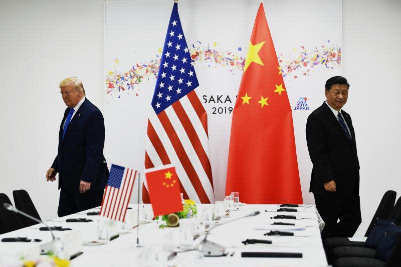 ▲美國總統川普、中國國家主席習近平。(圖/翻攝自 CNBC )