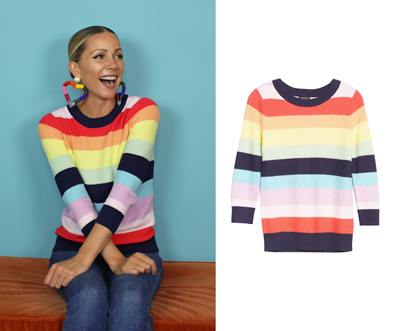 Three Quarter Sleeve Sweater. Images via Nordstrom.