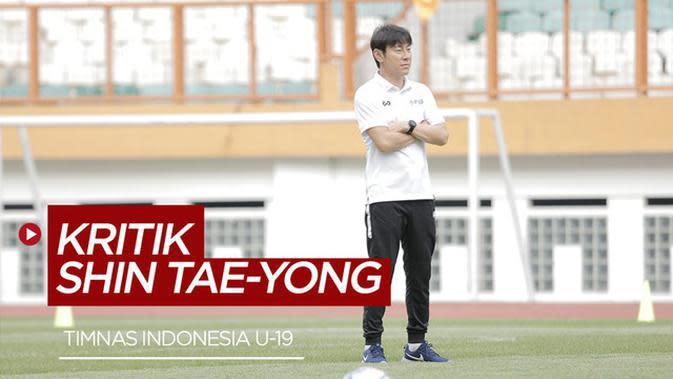 VIDEO: Shin Tae-yong Kritik Kualitas Lapangan Timnas Indonesia U-19
