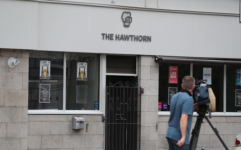 The Hawthorn, which was originally associated with the Aberdeen outbreak - Andrew Milligan/PA