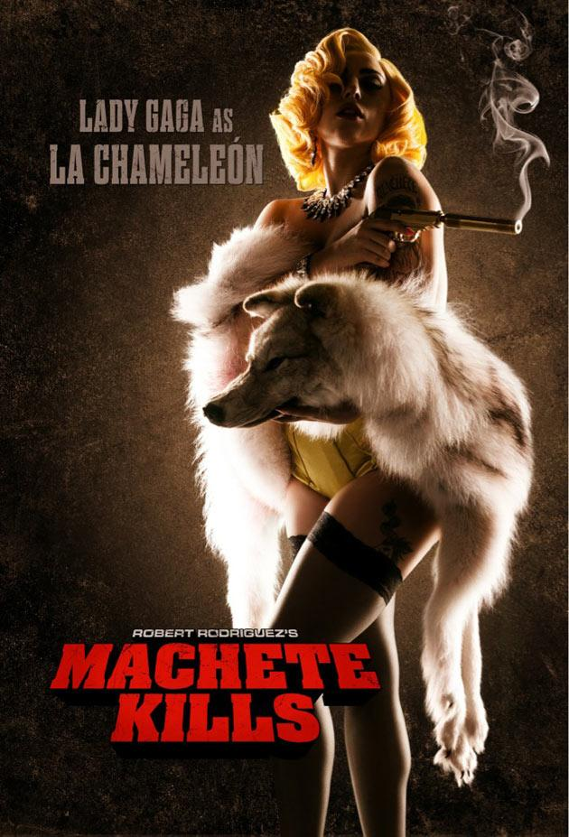 Lady Gaga finishes acting debut shoot for 'Machete Kills'