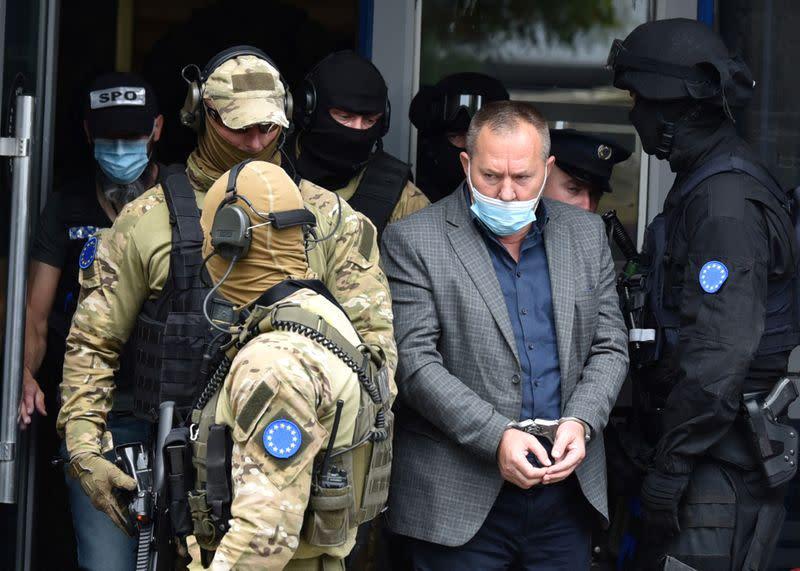 Kosovo veterans leader arrested on witness intimidation charges: tribunal