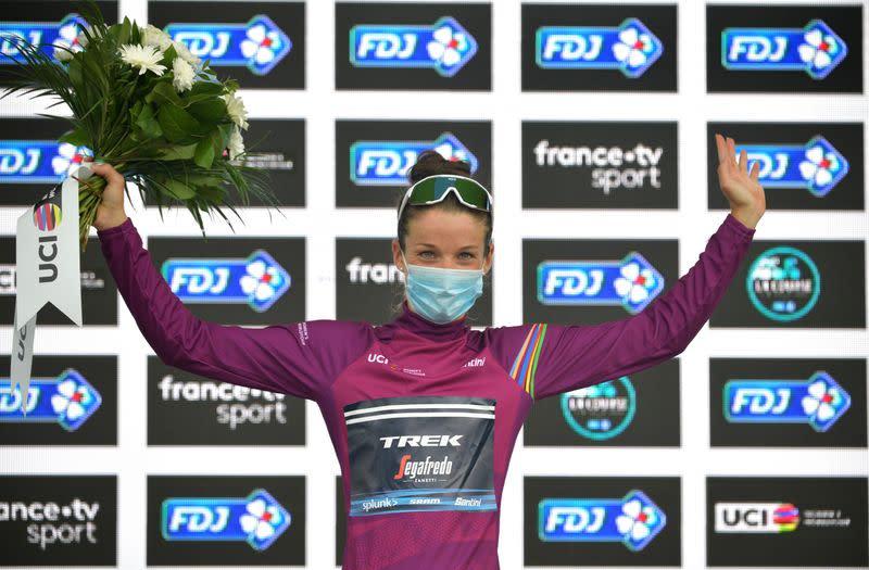 Cycling: Britain's Deignan beats Vos to win La Course thriller