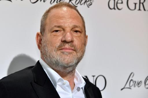 Hollywood producer Harvey Weinstein, whose downfall sparked the global #MeToo sexual harassment movement, at last year's Cannes film festival