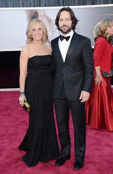 85th Annual Academy Awards - Arrivals: Paul Rudd and wife Julie Yaeger