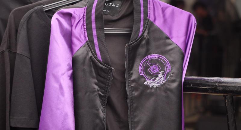 TI9 jackets at the Secret Shop in Shanghai, China. (Photo: Yahoo Esports SEA)