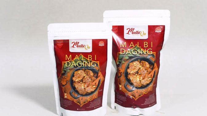 Muhammad Yunus Obay menciptakan Malbi Palembang kemasan dengan merk Malbiqu (Dok. Humas Malbiqu Malbi Palembang / Nefri Inge)