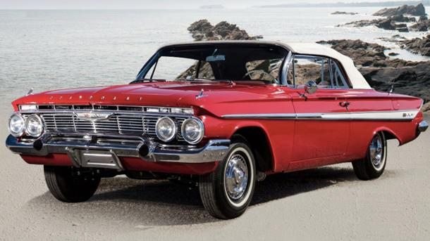 Thieves swipe four classic Chevys during Monterey auctions